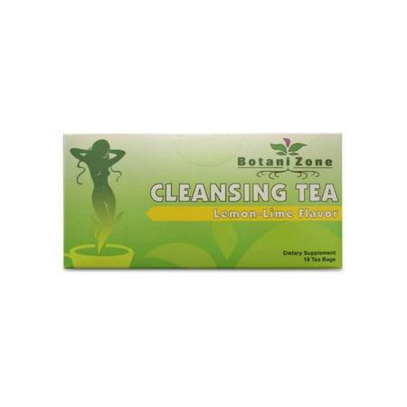 BZ-Cleanse Tea, Lemon Lime Flavor, Colon Cleanse, Tea Bags ()