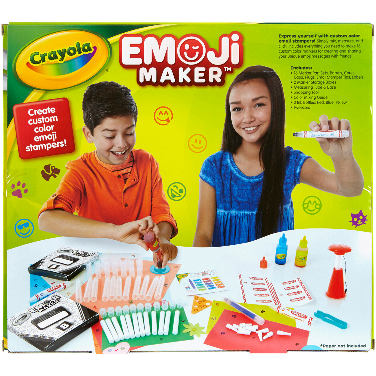 Crayola Emoji Marker Maker with Stamper Tips Only $10.83