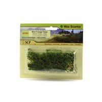Architectural Model Trees Wire Foliage Trees (medium green), 1 1/2 in. - 3 in., pack of 24 (pack of 3)