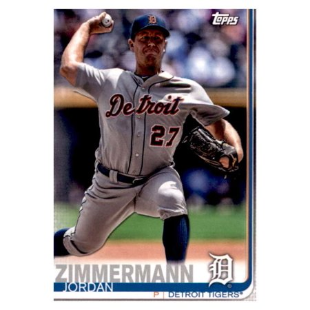 2019 Topps Team Edition Detroit Tigers #DT-11 Jordan Zimmermann Detroit Tigers Baseball - Halloween Edition Jordans