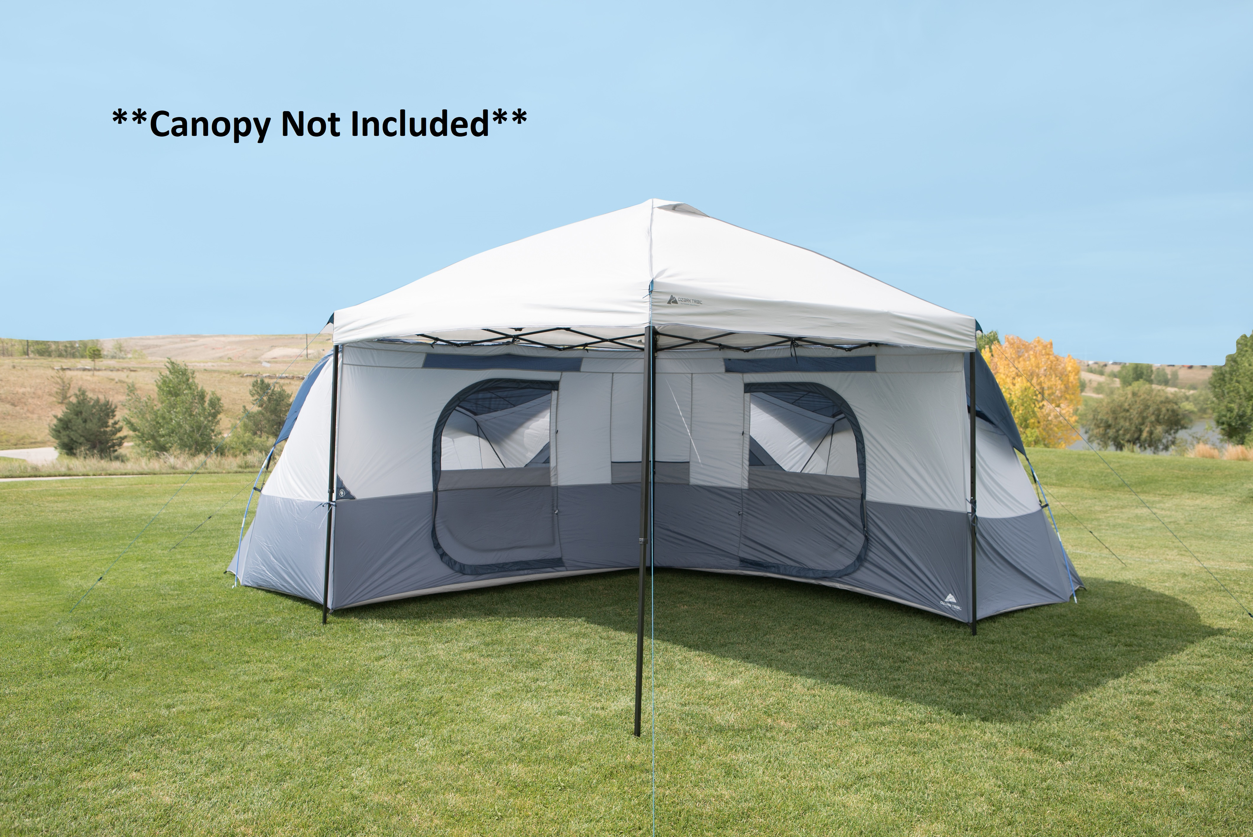Camping Tents Ozark Trail 6 Person 10 x 10 Instant Cabin ...