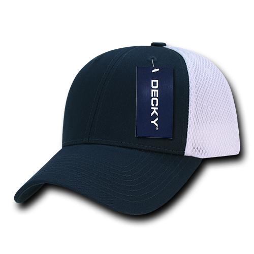 Decky Trucker Hats: DECKY Low Crown Air Mesh Baseball Trucker Cap Hat Hats For