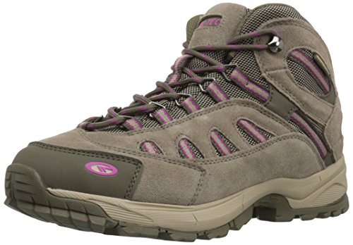 Hi-Tec Women's Bandera Ultra Mid Waterproof Backpacking Boot, Taupe Dune Boysenberry, 9.5 M US by Hi-Tec