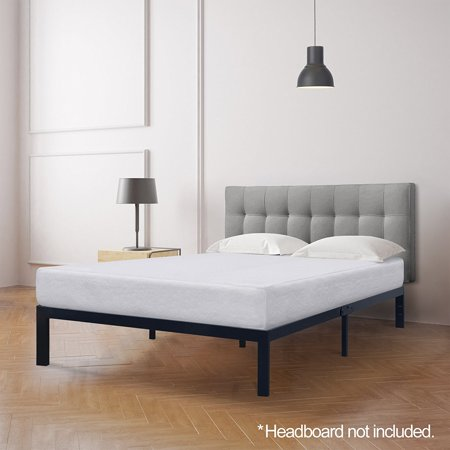 Best Price Mattress 8 Inch Memory Foam Mattress and Model E Heavy Duty Steel Frame Set, Multiple