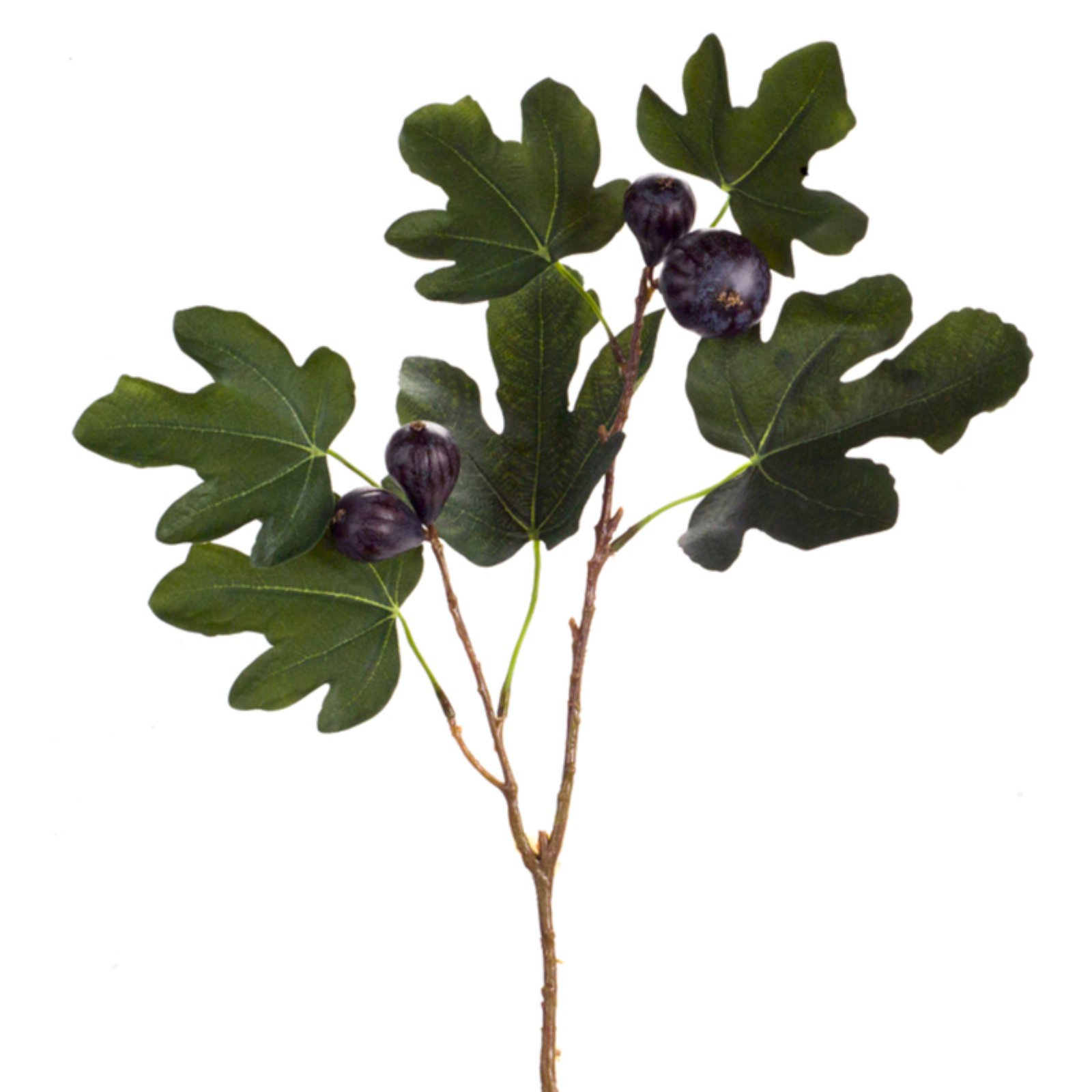 Melrose International Fig Branch Silk Plant - Set of 12