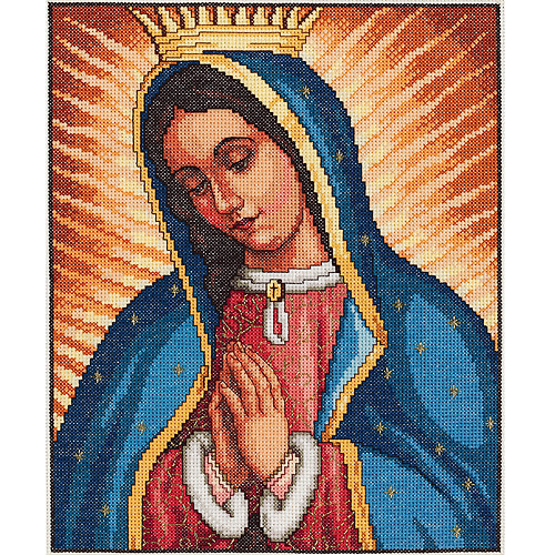 """Our Lady Of Guadalupe 14-Count Cross-Stitch Kit, 9"""" x 11"""""""