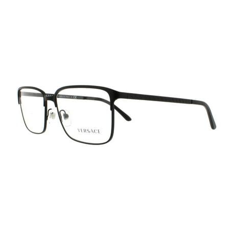 601073beeb VERSACE Eyeglasses VE 1232 1261 Matte Black 56MM - Walmart.com