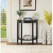Acme Furniture Justino II Console Table in Black Finish 90163