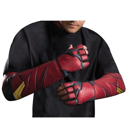 Justice League Movie - Flash Gloves- Adult