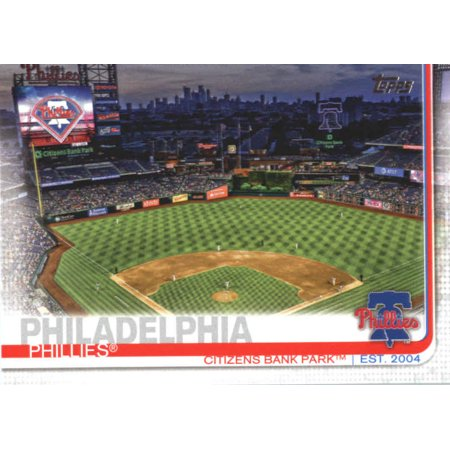 - 2019 Topps #187 Citizens Bank Park Philadelphia Phillies Baseball Card - *GOTBASEBALLCARDS