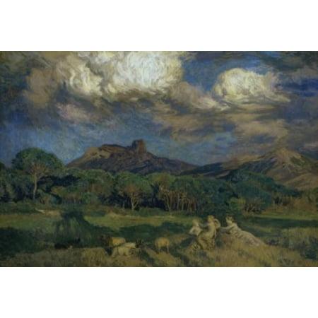 The Driads   Les Dryades  Rene Menard  Marie Auguste Emile   1862 1930French  Petit Palais Paris   Canvas Art   Rene Menard  24 X 36