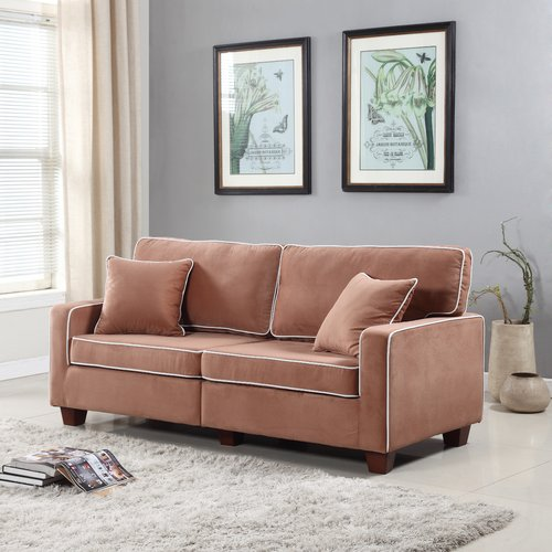 Madison Home USA Two Tone Loveseat