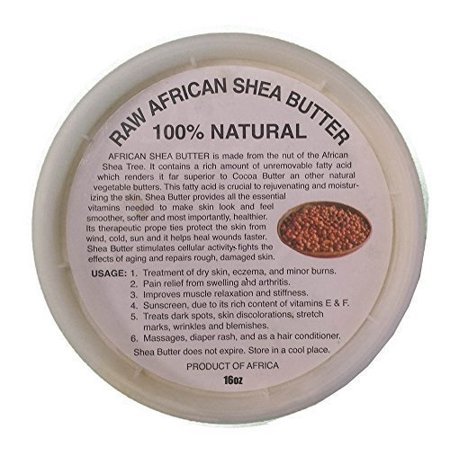 african shea butter cream selection (100% pure & raw, gold, ivory) !!! (16 oz ivory) by (Ivory Creme)