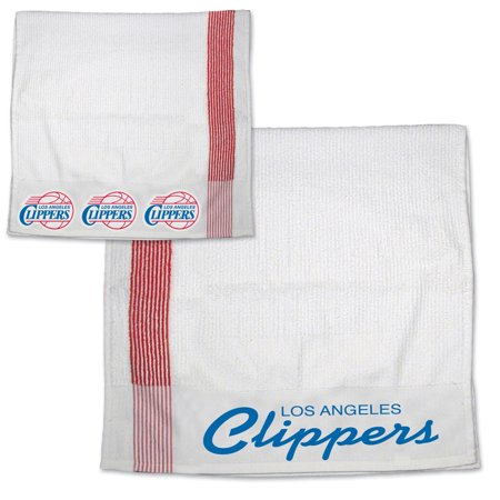 Los Angeles Clippers Official Nba 11 Inch X 18 Inch  Sport Towel By Mcarthur