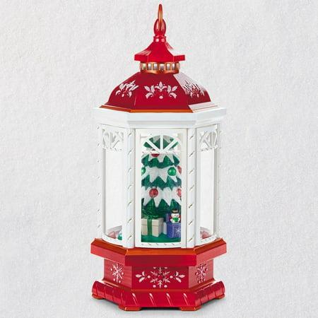 Hallmark Keepsake 2018 Christmas Lantern Table Decoration With Light, Sound and Motion - Light Up Table Decorations