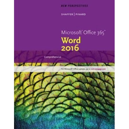 New Perspectives Microsoft Office 365   Word 2016