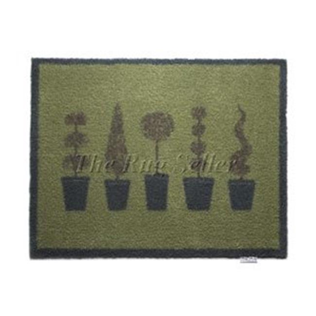HUG RUG T122 Patterned Floor Mat - Topiary 20