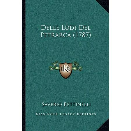 Delle Lodi del Petrarca (1787)