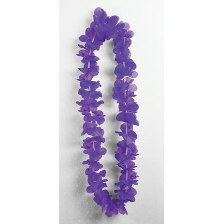 Purple Silk Carnation Leis Luau Party Supplies Accessories 3 - Carnation Leis