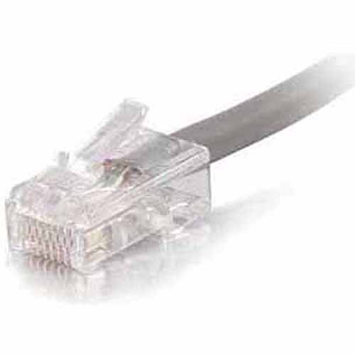 C2G 75' Cat5e Non Booted UTP Unshielded Network Patch Cable, Gray