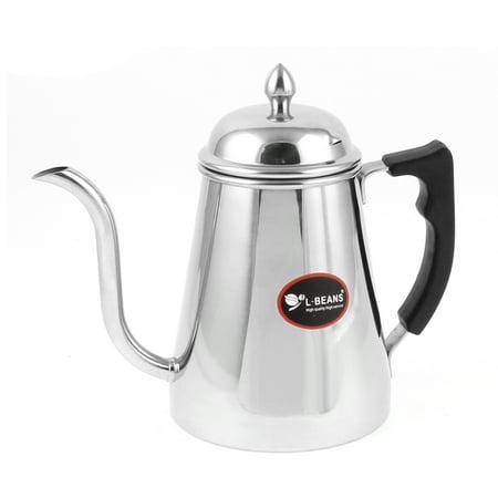 Plastic Handle Stainless Steel 600ml Coffee Drip Dripper Maker Pot Coffeepot - Walmart.com