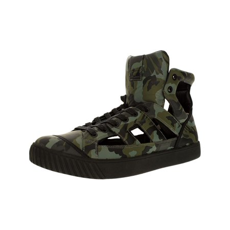 Onitsuka Tiger Women's Ok-Glory Gladiator Grey Camo/Grey Camo Ankle-High Leather Fashion Sneaker - 12M