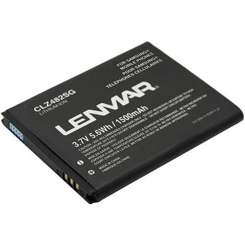 Lenmar Replacement Battery for Samsung Exhibit 4G SGH-T759, Conquer 4G SPH-D600 Cellular Phones