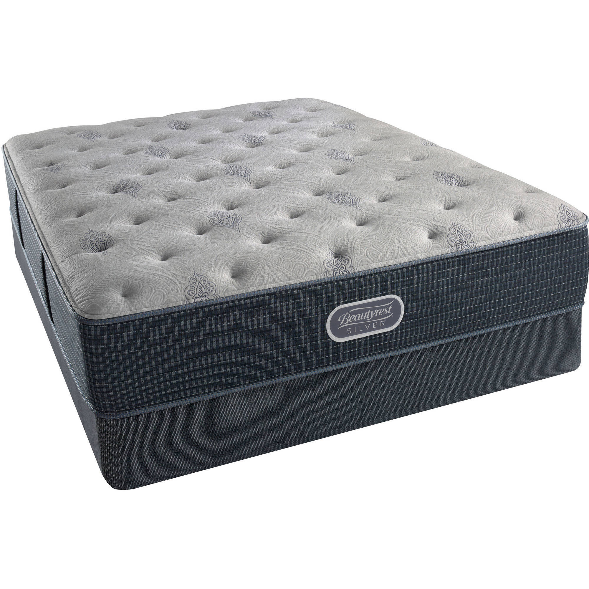 Beautyrest Silver Brewer Plush Mattress Set- In Home White-Glove Delivery Included