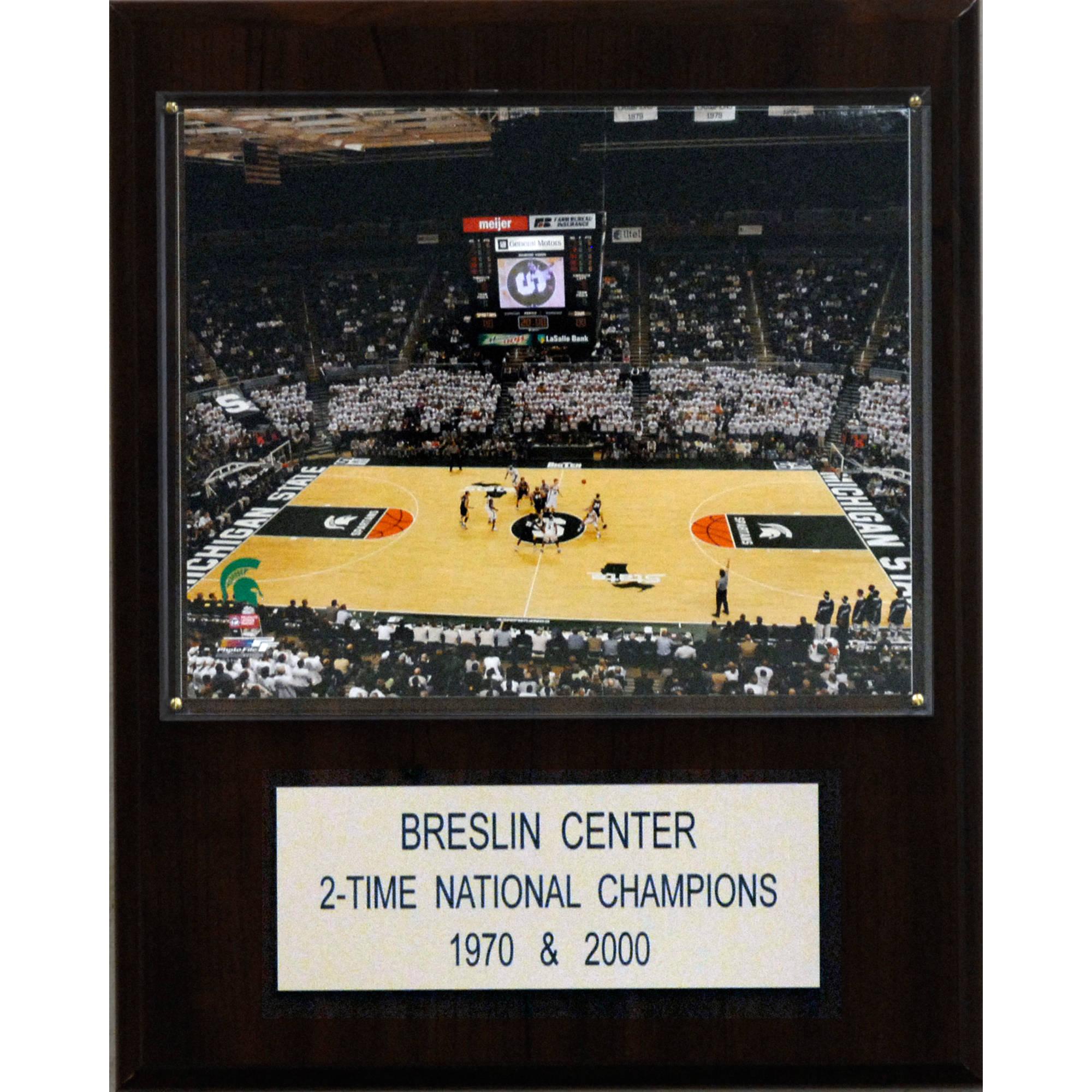 C&I Collectables NCAA Basketball 12x15 Breslin Center Arena Plaque