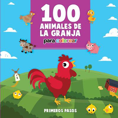 100 Animales de la Granja Para Colorear : Libro Infantil Para Pintar](Fantasmas Halloween Para Colorear)