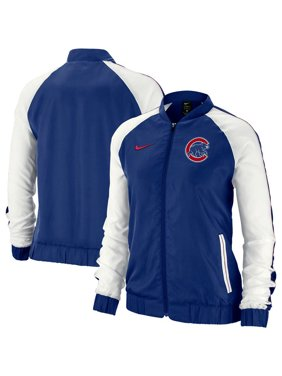 huge selection of 1cbd4 0be33 Product Image Chicago Cubs Nike Women s Varsity Full-Zip Jacket - Royal