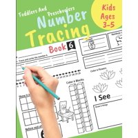 Number Tracing book for Toddlers and Preschoolers Kids Ages 3-5: Preschool Numbers Tracing Math Practice Workbook Learn numbers 0 to 20! Math Activity Book for Pre K, Kindergarten and Kids Ages 3-5. G