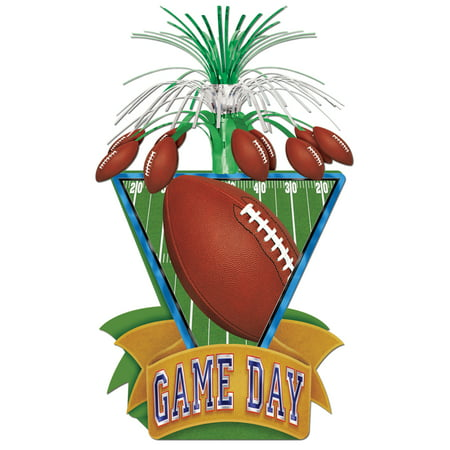 Beistle Party Decoration Game Day Football Centerpiece 15