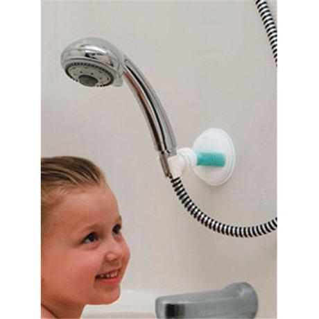 hand held suction shower arm holder safe er grip 1054. Black Bedroom Furniture Sets. Home Design Ideas