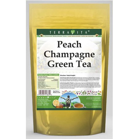 Peach Champagne Green Tea (25 tea bags, ZIN: 538740)
