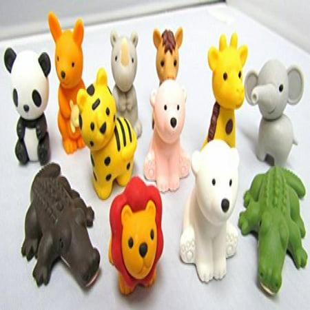Iwako Erasers - Animal Collection (12pcs) - Type A