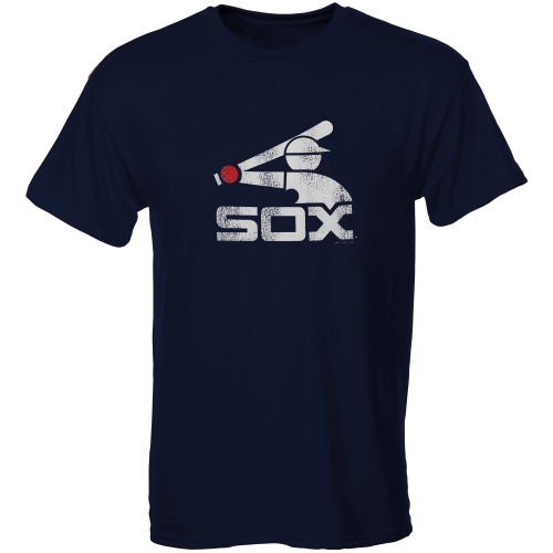 Chicago White Sox Youth Cooperstown T-Shirt - Navy Blue