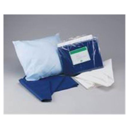 WP000-36702S 36702S 36702S Stretcher Sheet Fitted Disp 30x72 Blue 50/Ca ADI Medical