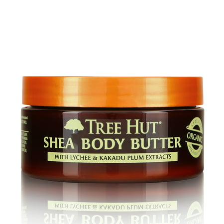 Shea Nut Body Butter (Tree Hut Moisturizing Shea Body Butter, Lychee & Kakadu Plum,)
