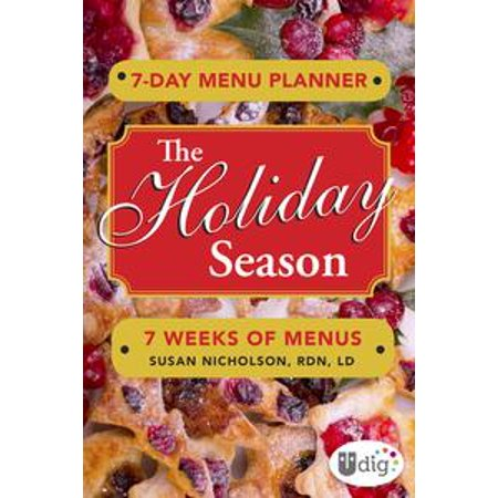 Holiday Planner (7-Day Menu Planner: The Holiday Season -)