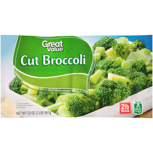 Great Value Broccoli Cuts 32oz