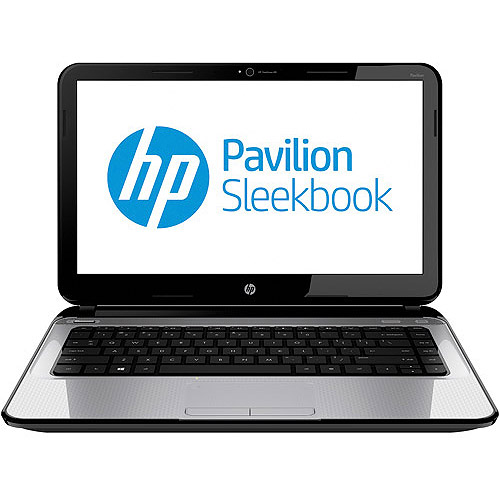 """HP Ano Silver 14"""" Pavilion 14-B110US Laptop PC with AMD Ultra-thin A4-4355M Accelerated Processor and Windows 8 Operating System"""