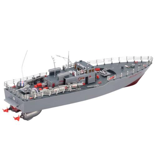 "19.5"" Highly Detailed Model R C Radio Control NT-2877 Warship Boat Military Battleship (Gift Idea) by"