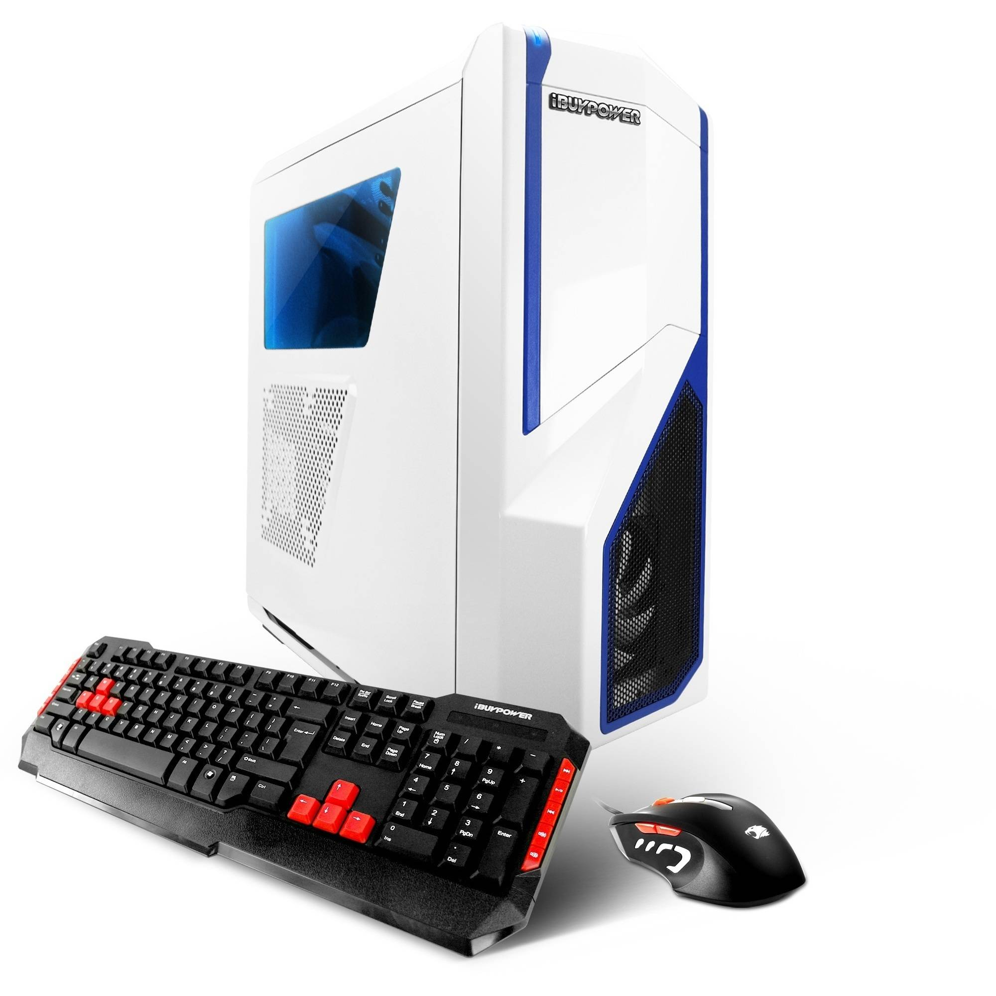 iBUYPOWER Phantom Gamer WA802 Gaming Desktop PC with AMD Vishera FX - 6300 Processor, 8GB Memory, 1TB Hard Drive and Windows 10 Home (Monitor Not Included)