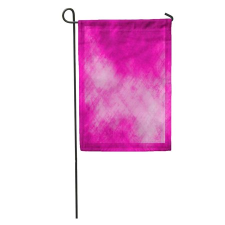 KDAGR Colorful Solid Abstract Pink Purple Color Hot Announcement Beautiful Birth Garden Flag Decorative Flag House Banner 28x40 inch