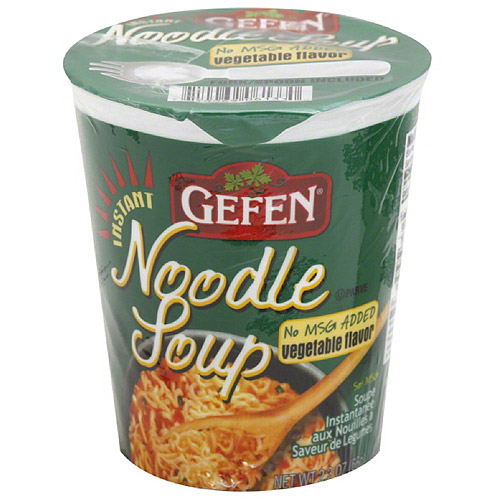 Gefen Vegetable Flavor Instant Noodle Soup, 2.3 oz, (Pack of 12)