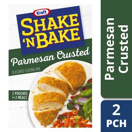 Shake Mix Banana - (3 Pack) Kraft Shake 'n Bake Parmesan Crusted Seasoned Coating Mix, 4.75 oz Box
