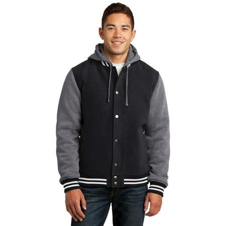 Sport-Tek Mens Insulated Letterman Jacket. JST82 (Letter Man Jacket)