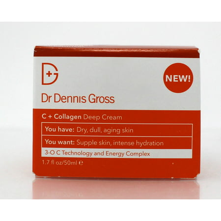 Dr Dennis Gross C + Collagen Deep Cream 1.7 (Dennis Gross Active Vitamin)