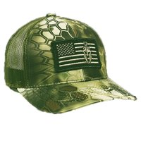 Product Image Kryptek Mandrake USA Flag Patch Mesh Back Fishing 8642121f448